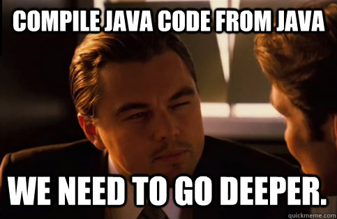 Compiling in Inception
